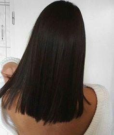 Haircuts Straight Hair, Haircuts For Medium Hair, Haircut For Thick Hair, Medium Hair Styles, Curly Hair Styles, Dark Brunette Hair, Dark Hair, Aesthetic Hair, Balayage Hair