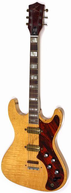 1962 Kay K-300 Electric #LardysWishlists #Guitar ~ https://www.pinterest.com/lardyfatboy/ ~