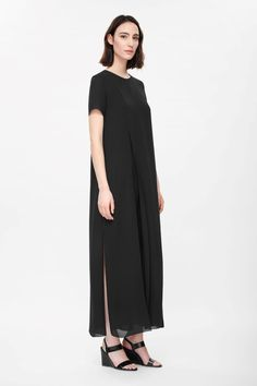 COS | Double-layer crepe dress