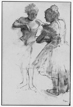 Edgar Degas - Two Dancers #4