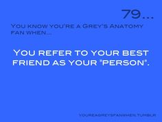 I personally think my Person and my best friend are not the same.