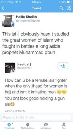 jihadi bride tweets