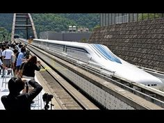 Japan tests world's fastest train - Japan is continuing tests on a magnetic levitation (maglev) train that will eventually move riders from Tokyo to Nagoya at 310 miles per hour. Here's a sense for what that feels like. Watch video.
