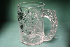 McDonalds Batman Forever Batman Glass Mug by CoffeeApothecary, $5.00