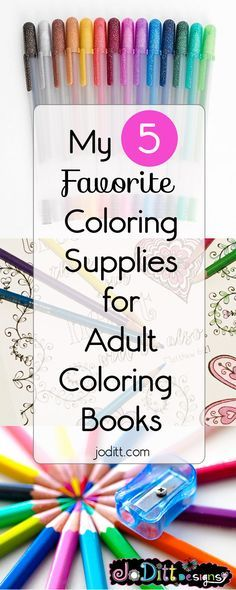 7995 Best Favorite Coloring Supplies images | Coloring books ...