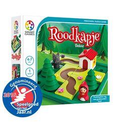 Roodkapje Deluxe | SmartGames - Puzzelspellen voor één speler