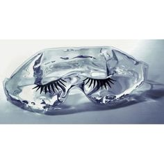 Kingsley Gel Eye Masque with Eyelash Imprint - Clear by Kingsley. $4.59