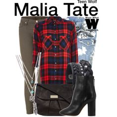 Inspired by Shelley Hennig as Malia Tate on Teen Wolf.