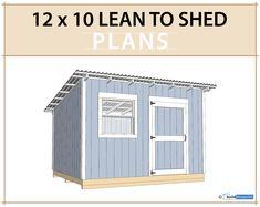 Lean To Carport, Lean To Roof, Carport Plans, Patio Plans, Hip Roof, Lean To Shed Plans, Shed Building Plans, 10x10 Shed Plans, House Building