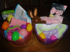 Easter basket ideas for a baby/Toddler