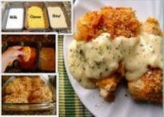 Myfridgefood - Crispy Cheddar Chicken