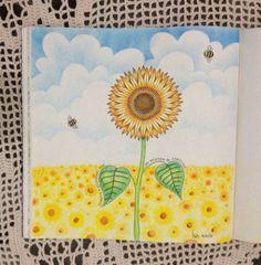 Girassol, do Jardim Secreto.  #jardimsecreto #secretgarden #girassol #sunflower