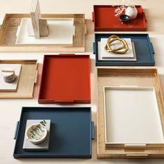 Decorative Trays & Coffee Table Trays | West Elm