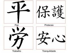 Semana Oriental: O Kanji e seus significados