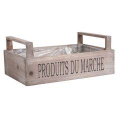 Cageot en bois Fruits ou Produits du Marché Aubry Gaspard  11,90