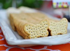 butterfly crackers with cheese