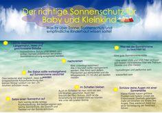 Der richtige Sonnenschutz für Baby und Kleinkind. Alles was ihr zum Thema Sonne, Sonnenschutz und empfindliche Kinderhaut wissen solltet.