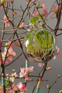 Great idea for a centerpiece, and could be re-themed throughout the year.