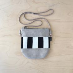 Recycled Denim, Linen Bag, Denim Bag, Black Linen, Natural Linen, Evening Bags, Pouches, Cosmetic Bag, Grey And White