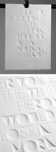 Haiku: Typographic Experiments by Eli Kleppe | Inspiration Grid | Design Inspiration