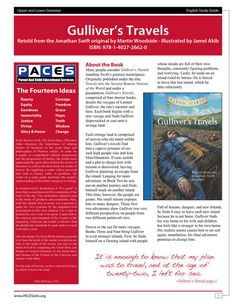 Gulliver's Travels Classic Starts  Study Guide by PACESpublishing
