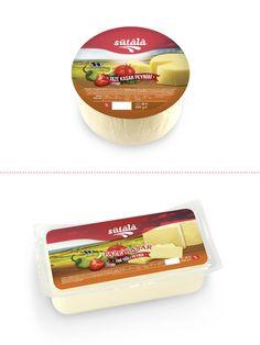 Karsüt'e ait bir marka olan Sütâlâ için hazırladığım kaşar peyniri ambalaj çalışmaları. #kaşar #peynir #ambalaj #tasarım #cheese #packaging #design