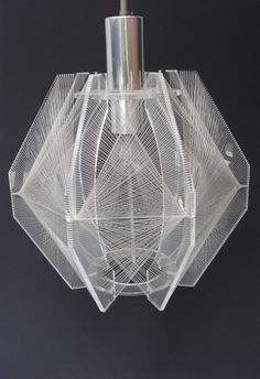 Nylon String Lamp...what if I made it out of optical fiber. small imperfections and tunneling would allow some light to escape along the entire length...