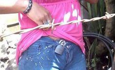 Cinturon antirobo