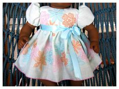 Spring Easter Dress and Sweater for Bitty Baby by BonJeanCreations, $28.49