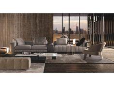 Minotti Freeman sofa luxery interior design