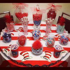 Dr. Seuss Candy buffet!!
