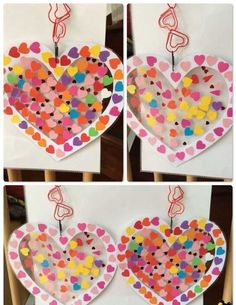 101 Mother's Day DIY Craft Ideas for Kids - Muttertag & Vatertag Valentine's Day Crafts For Kids, Valentine Crafts For Kids, Valentines Day Activities, Valentines For Kids, Toddler Crafts, Art For Kids, Mother's Day Diy, Mothers Day Cards, Blog