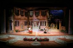 Enchanted April. Scenic design by Patricia L. Frank.