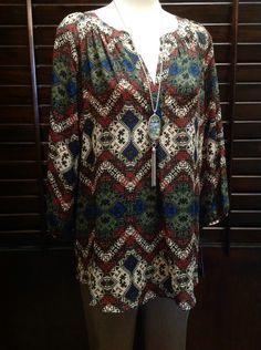 Zac & Rachel - Multicolor tunic  - $48
