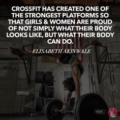 NOTICE STEADY GAINS IN YOUR CROSSFIT. CrossFit has helped me to be able to fully explore my potential as a strong…