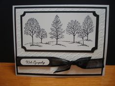"Stampin up ""Lovely as Tree"""
