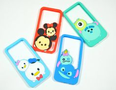 Tsum Tsum Bumper Phone Case For iPhone 5/5s by LittleThingsbyTT