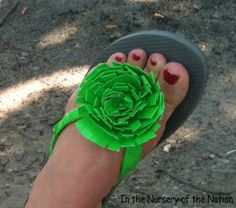 DIY: Duck Tape Flip Flop Tutorial
