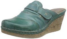 Manitu 900474, Damen Pantoletten, Grün (grün), 36 EU - http://on-line-kaufen.de/manitu/36-eu-manitu-900474-damen-pantoletten