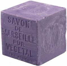 I put this under garden because without a garden it wouldn't exist. And this is great way to extend the life of a garden. Lavender Savon de Marseille