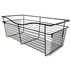 Rev-A-Shelf CB-181618ORB-1 - Wire Basket 16inD Closet Pullout Basket, Oil-Rubbed Bronze