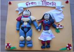 Galleta decorada. Boda de Fran y Marta