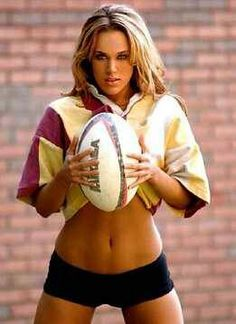 Rugby girl #Lana