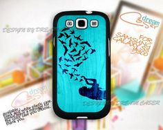Girl Love Bird - Print On Hard Case Samsung Galaxy S3 i9300