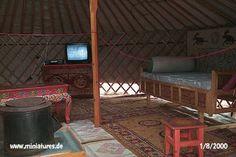 Mongolian single bed