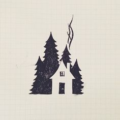 Little house #illustration