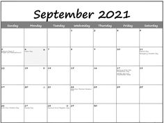 September 2021 Moon Phases Calendar – New Moon and Full Moon Calendar New Moon Calendar, 12 Month Calendar, 2019 Calendar, Mather Day, Lunar Phase, Work Activities, Scientific Method, Moon Phases, Months In A Year