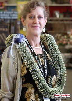 Ben Franklin Crafts and Frame Shop, Monroe, WA: DIY Money Leis - Great Graduation Gift