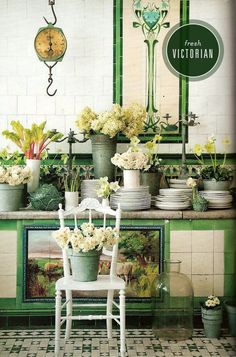 enchanting victorian style kitchen   1000+ images about Victorian kitchens on Pinterest ...