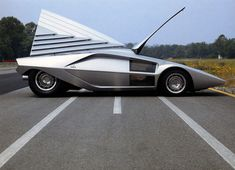 The Bertone Lancia Stratos HF Zero Was The Baddest Disco Spaceship Wedge